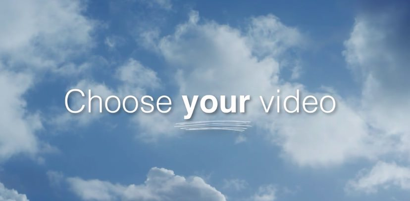 Choose-your-video